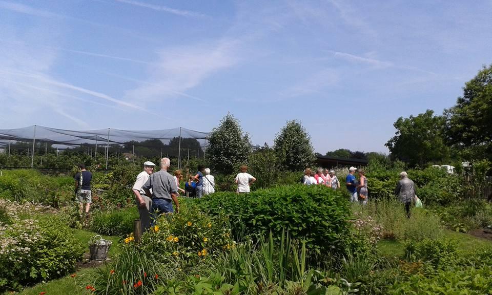 """""""De Huiskamer """" op bezoek bij Zorgboerderij de Lorr in Heide"""
