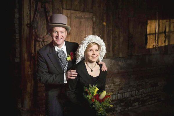 Boorebroedspaar Marijn Litjens en Krista Hesen