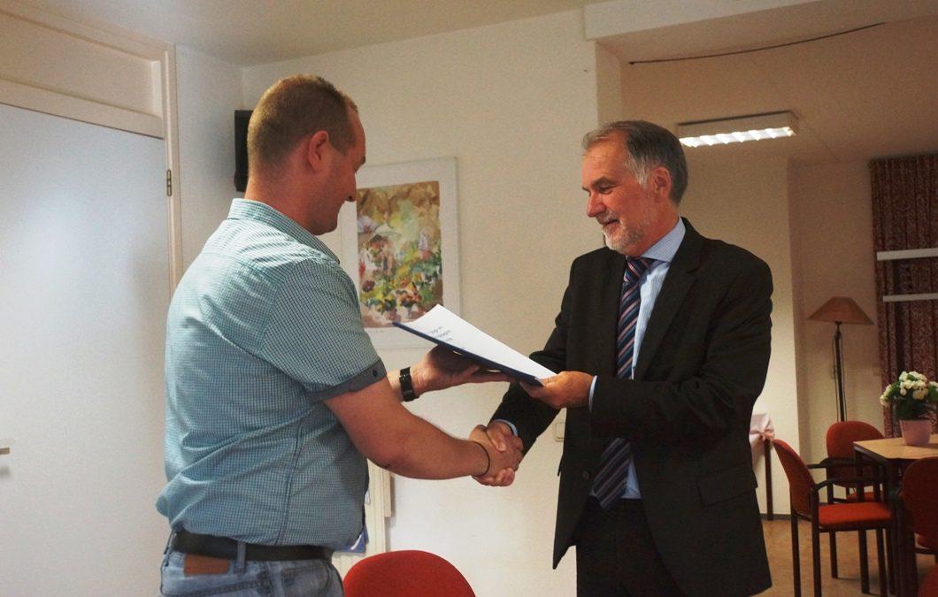 Verenigings- en Accommodatieplan aangeboden aan wethouder Van Rensch