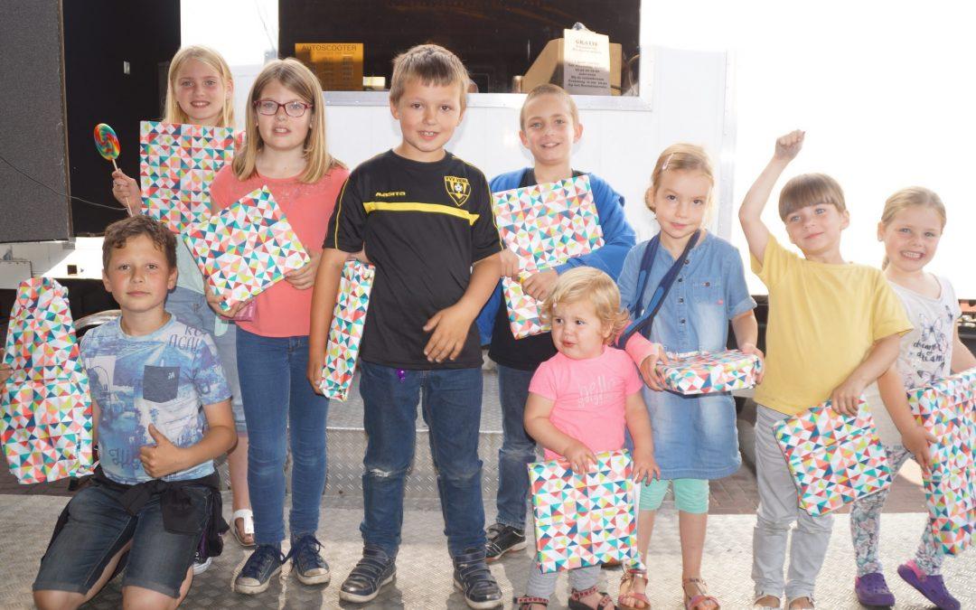 Prijswinnaars Kermis kleurplaten- en Straatkrijtwedstrijd