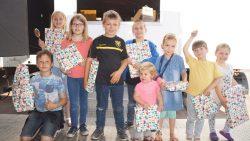 Prijswinnaars Kermis kleurplatenwedstrijd en Straatkrijtwedstrijd