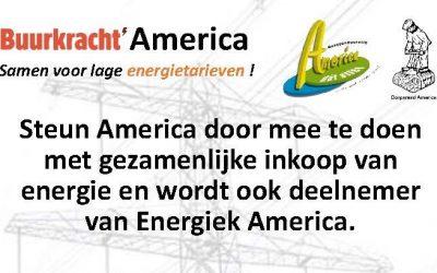 Inloopavond Energiecollectief America