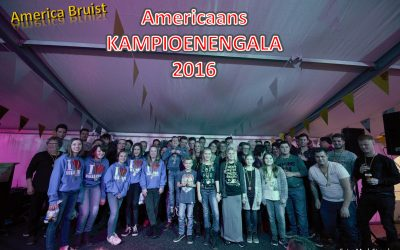 Kampioenengala 2016 tijdens America Bruist!