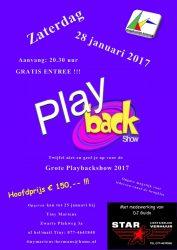 Grote Playbackshow 2017