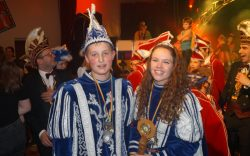 Jeugdprins Roy II en Jeugdprinses Lotte I - Turftreiers 2017