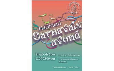 JNA-Carnavalsbal in de soos