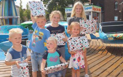 Prijswinnaars Kermis kleurplatenwedstrijd 2017