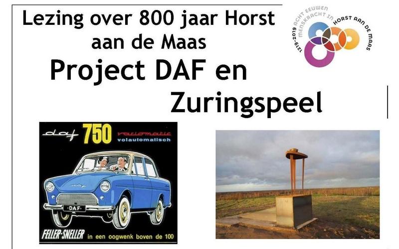 Lezing 800 jaar HadM – Project DAF en Zuringspeel