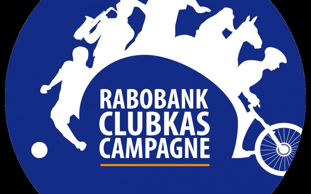 Rabobank Clubkas Campagne 2018 weer van start