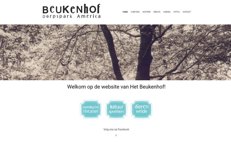 Website Het Beukenhof online