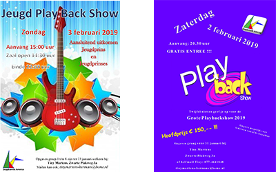 Playbackshows 2019