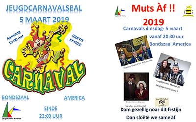 Jeugdcarnavalsbal en Muts Af 2019