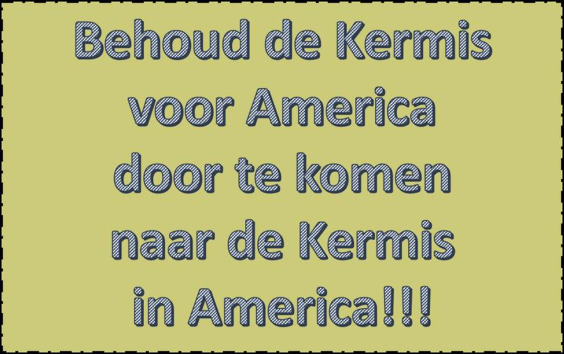 Behoud de Kermis…..
