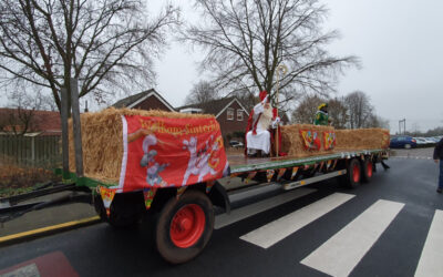 Sinterklaas toch naar Basisschool De Wouter