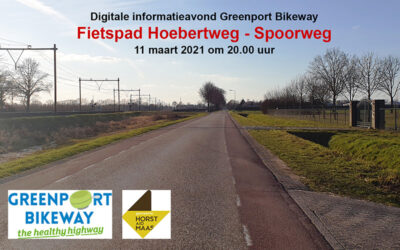 Informatieavond Greenport Bikeway, Fietspad Hoebertweg/Spoorweg