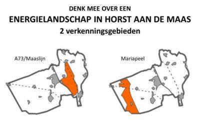 Denk mee over een Energielandschap in Horst aan de Maas