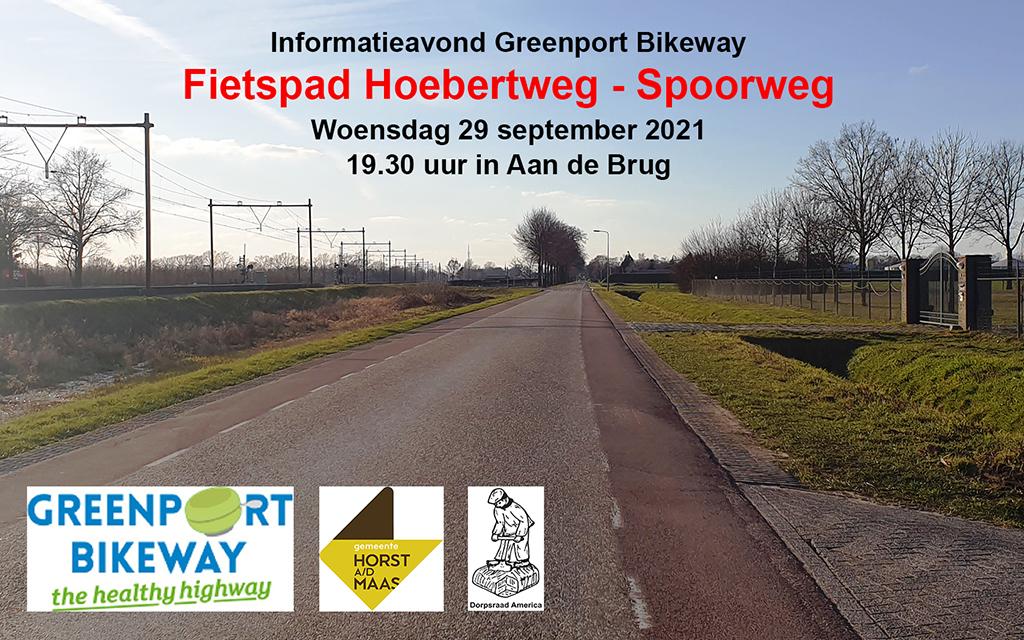 Informatieavond Greenport Bikeway (fietspad Hoebertweg)